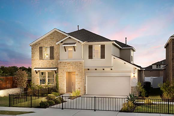 Legends Way at Onion Creek home built by William Lyon Homes in Austin, TX.