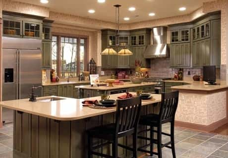 An example of a well decorated kitchen within house located near Manassas  in Brookfield What 39 s Hot Home Design for 2013 NewHomeSource