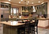 An example of a well-decorated kitchen within a house located near Manassas in Brookfield