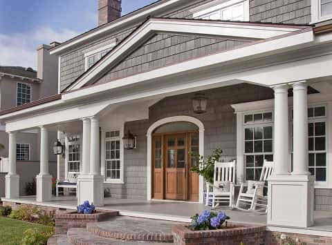Exterior finishes made of engineered materials provide - Exterior wall finishes materials ...
