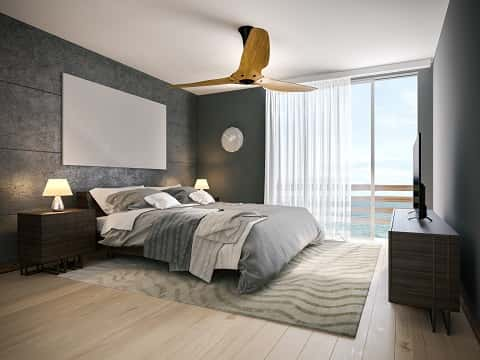 A white and gray simple-yet-highly creative and unique hotel room overlooking & How Home Interior Design is Influenced by Hotel Design