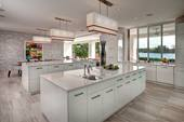 A white kitchen built and designed to perfection by the leading design group of Phil Kean.