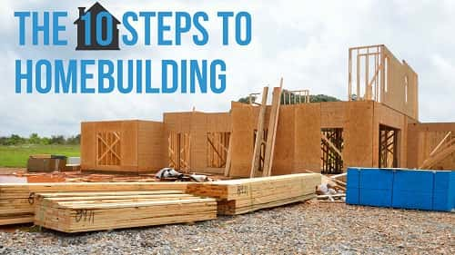A step-by-step guide to the home building process.