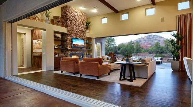 A Telescopic Wall Of Glass In The Enchantment Plan By Dorn Homes Showcases  The Homeu0027s Great