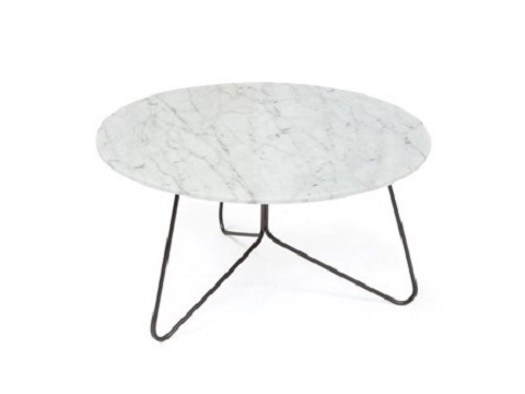 The Tracy coffee table in Carrara White from Bellini Modern Living