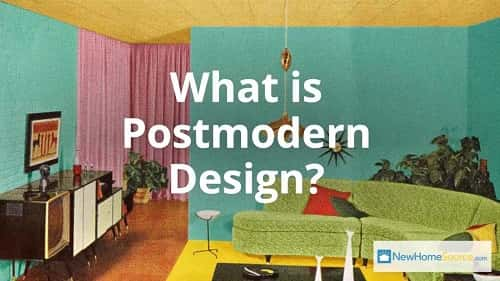 What Is Postmodern Design Newhomesource