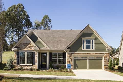 Oakside floorplan from the Cresswind Community in Charlotte, North Carolina