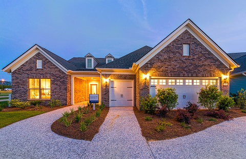 Dunwoody Way floor plan in the Del Webb retirement community in Myrtle Beach, Florida