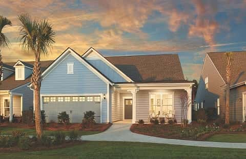 Summerwood is a one-story home with a two-car garage located in Del Webb's Myrtle Beach community for active, retired adults