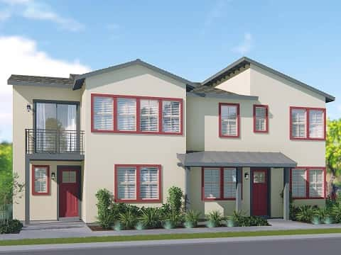 41 Concepcion Street, a townhome plan by Meritage Homes at Modena at Esencia in Rancho Mission Viej, Calif.