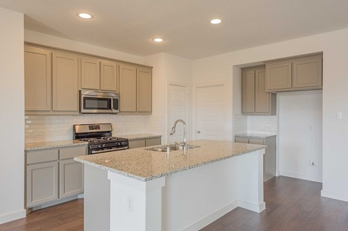 Kitchen by Highland Homes