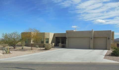 Plan 2950 on Lot 37 in Oro Valley, Ariz., a semi-custom homes by Sombra Homes, Photo courtesy of Sombra Homes.