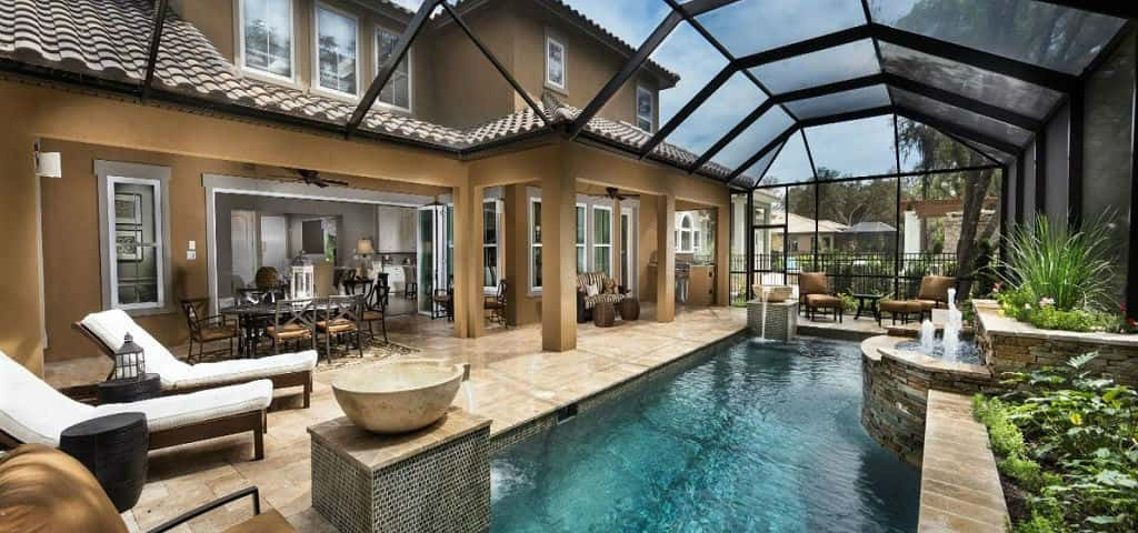 "Fishhawk Preserve<br /> Lithia, Fla.<br /> <br /> 3-5 bedrooms, 2.5-4.5 baths<br /> 3-car garages<br /> 2,833-3,812 sq. ft.<br /> 1- or 2-story homes<br /> <br /> Photo: Durango Plan pool.<br /> <br /> PHOTO COURTESY OF<br /> Ashton Woods Homes<br /> <br /> <a href=""https://www.newhomesource.com/communitydetail/builder-2413/community-70191"" target=""_blank"">Learn More About This Community on New Home Source</a>"