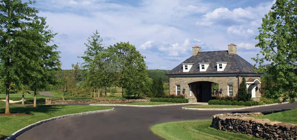 "A gatehouse near the entrance of the picturesque community is the gateway to what lies ahead. Members of the community have access to a resort-style pool facility, two Har-Tru and two clay tennis courts and man dining options.<br /> <br /> ""Creighton Farms, an Audubon sanctuary, features 127 homesites on more than 700 acres,"" Martinez says. ""There are currently 25 completed residences with another seven under construction.""<br /> <br /> PHOTO COURTESY OF<br /> Southworth Development"