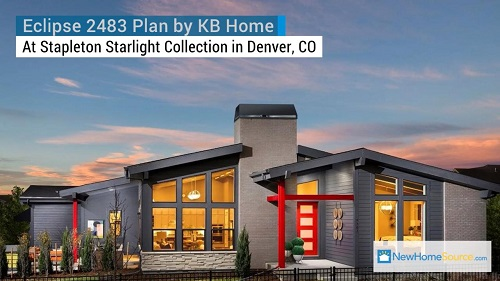 Eclipse 2483 Plan by KB Home