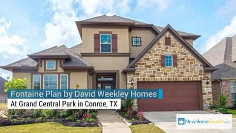 Home of the Week: Fontaine Plan by David Weekley Homes