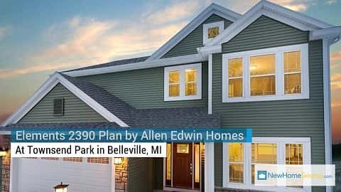 Home of the Week: Elements 2390 Plan by Allen Edwin Homes