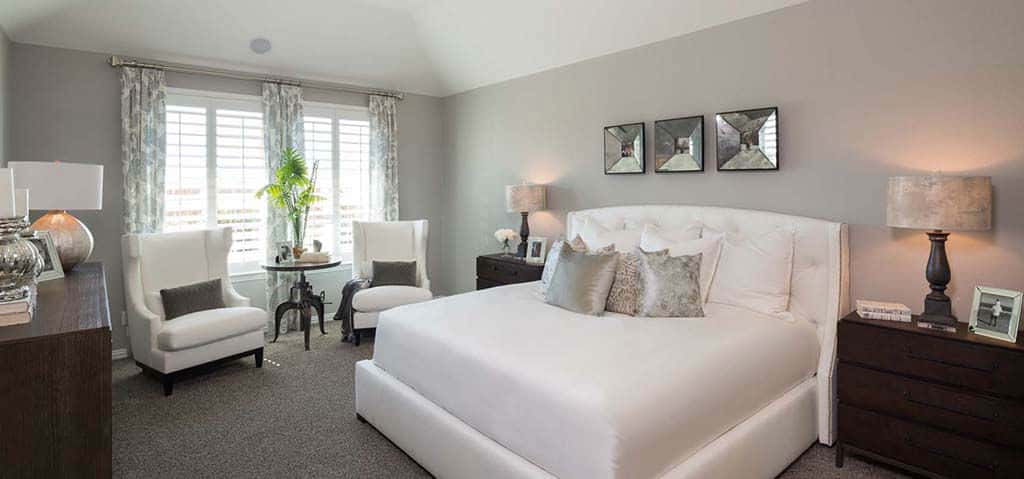 "Custom options certainly don't end in the owner's retreat. At Elyson 55s, homebuyers also get the option to extend the bedroom and add additional lighting, pre-wiring and accent paints.<br /> <br /> ""We have flexible designs — if there is something specific our customers are looking for we can accommodate them,"" says Danny Day, a sales counselor at Elyson 55s.<br /> <br /> PHOTO COURTESY OF<br /> Highland Homes"