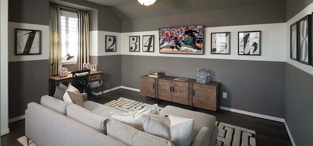 Highland Homes Media Rooms Can Accommodate Additional Insulation On ...