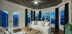 Den in the Kramer plan by Insight Homes
