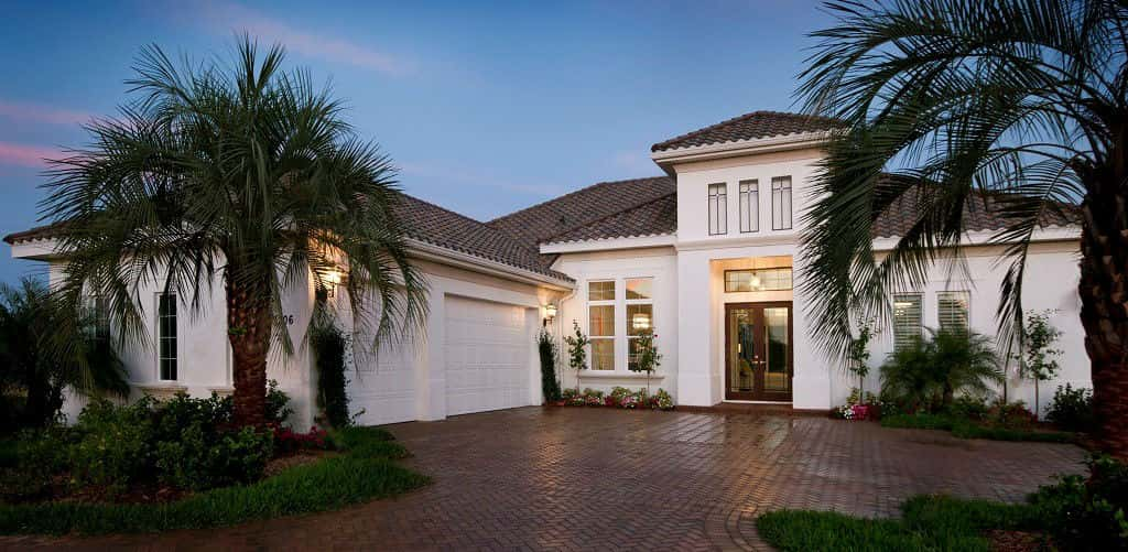 "<a href=""https://www.newhomesource.com/builder/london-bay-homes/about/7633"" target=""_blank"" title=""London Bay Homes"">London Bay Homes</a>' Isabella Plan is a sleek, Mediterranean-style home found just a quarter hour from Florida beaches, shopping and dining opportunities. Located at The Founders Club in Sarasota, Fla., homes here are surrounded by 700 acres of natural features like nature preserves and wetlands. The Isabella Plan has numerous large windows integrating elements of nature into the home, a private pool and spa that can be seen upon entrance, and blue pearl granite and stainless steel appliances throughout the kitchen. We love this home for it's sheer simplicity and elegance.<br /> <br /> PHOTO COURTESY OF<br /> London Bay Homes"