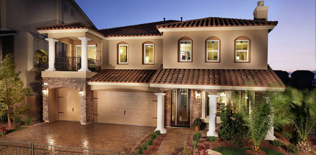 Home of the week the lauren plan by american west for Las vegas home source
