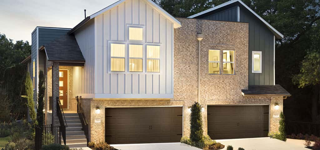 "Located along one of the most popular strips of downtown Austin, Highmark by <a href=""https://www.newhomesource.com/builder/meritage-homes/about/892"" target=""_blank"" title=""Browse New Homes by Meritage Homes"">Meritage Homes</a> is one hip community. Though a sleek and urban neighborhood, these townhomes are still surrounded by older trees and foliage. You still get the best of both worlds!<br /> <br /> Floor plans at <a href=""https://www.newhomesource.com/resourcecenter/slideshows/home-of-the-week-meritage-homes"" title=""Highmark - Home of the Week"">Highmark</a> include walk-in closets, an enormous owner's suite and outstanding green standards. And since Austin is known for being so dog friendly, it even has its own dog park on site.<br /> <br /> PHOTO COURTESY OF<br /> Meritage Homes"