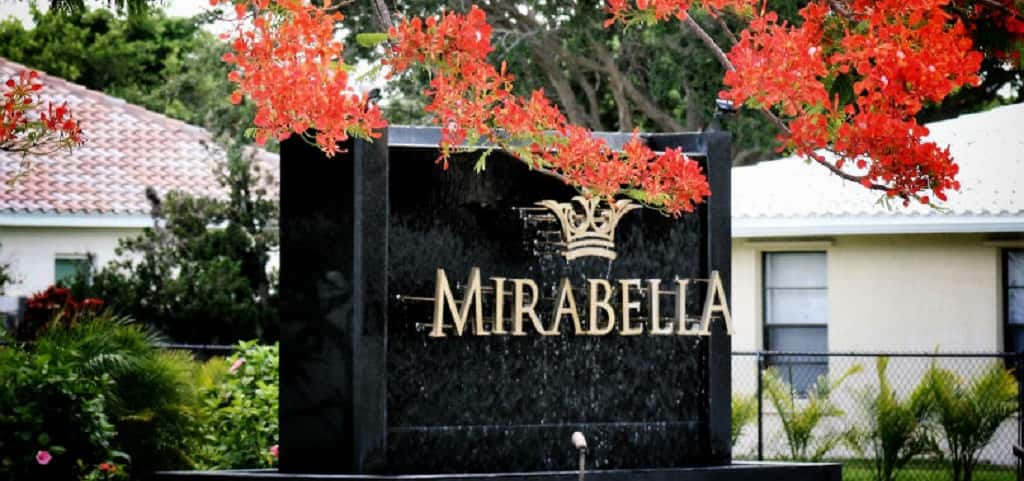 "Daniela Plan<br /> Mirabella; Bradenton, Fla.<br /> <br /> 2 Bedrooms/2 Baths<br /> 2 Garages<br /> 1,524 sq. ft.<br /> 1-Story Home<br /> <br /> Photo: A Mirabella community sign welcomes residents and guests alike to energy-efficient homes.<br /> <br /> PHOTO COURTESY OF<br /> Mirabella Florida<br /> <br /> <a href=""https://www.newhomesource.com/homedetail/planid-1271070"" target=""_blank"">Learn More About This Home on New Home Source</a>"
