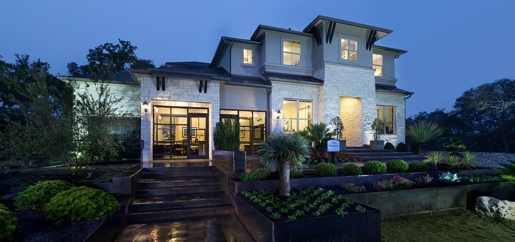"The Pinehurst Plan by <a href=""https://www.newhomesource.com/builder/standard-pacific-homes/about/40"" target=""_blank"" title=""Standard Pacific Homes"">Standard Pacific Homes</a> is an urban-chic dwelling set within the native greenery of Austin, Texas. Located at the Maravilla at Avaña community just minutes from downtown, the Pinehurst Plan capitalizes on the city's vibrant and unique character. You'll find plenty of room for at-home entertainment, a trendy spiral staircase, a gourmet kitchen, an outdoor kitchen, a media room and a developed patio with large windows to take in the beautiful Hill Country views. This outstanding floor plan towers above the competition in a beautiful, natural-yet-urban setting.<br /> <br /> PHOTO COURTESY OF<br /> Standard Pacific Homes"