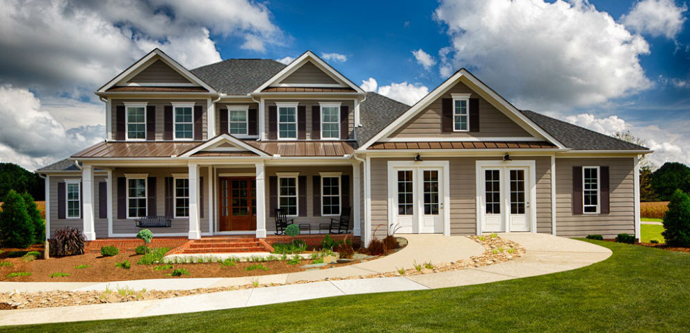 """The Stoneridge A plan is a very livable home,"" says Mary Becker, vice president of sales and marketing for Schumacher Homes. ""We think a lot about how we live today and how can our homes make our buyers' lives easier. This home is just a great example of that.""<br /> <br /> The Stoneridge A plan is designed with upscale living in mind and is a build on your lot home, giving buyers flexibility.<br /> <br /> PHOTO COURTESY OF<br /> Schumacher Homes"