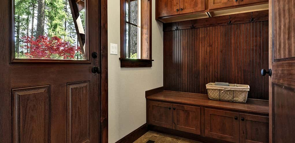 "<p>The mudroom is one of the most popular features of the home. ""It has a nice beadboard look with coat hooks,"" Atherton says.<br /> <br /> The mudroom also has a drop zone and a long bench for those returning from outdoor activities or just returning from a long day at work. ""The drop zone is a good place to take off gear and store equipment,"" he adds.</p> <p >PHOTO COURTESY OF<br /> The Burnsteads</p>"