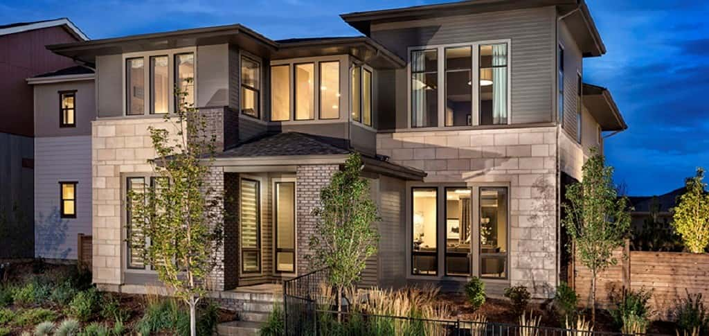 "The Vue at Stapleton Community by <a href=""https://www.newhomesource.com/builder/infinity-home-collection/about/5179"" target=""_blank"" title=""Infinity Home Collection"">Infinity Home Collection</a> is where you'll find the modern marvel that is the Vue Plan 3. Another home located in Denver, Colo., this plan features a 6-foot-wide staircase, an abundance of natural light and a sophisticated and contemporary design that fits in nicely with the many amenities the community has to offer. With an open floor plan that allows each of the rooms to borrow from the other, this plan is ideal for socializing and entertaining. The Vue Plan 3 showcases modern living at its finest.<br /> <br /> PHOTO COURTESY OF<br /> Infinity Home Collection"