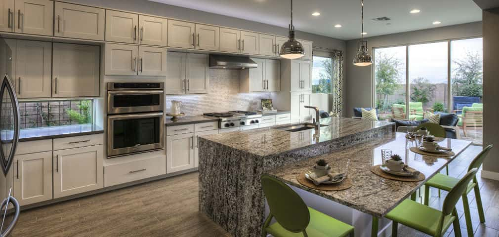 ranch style kitchen counters home of the week sahara plan by ashton woods homes