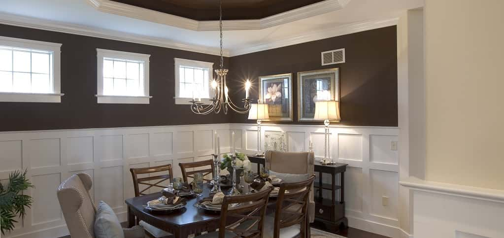 "<p>Oakville Plan<br /> Home Town Square in Ephrata, Pa.<br /> <br /> 2 bedrooms/2.5 baths<br /> 2-car garage<br /> 3,213 sq. ft.<br /> 2-story home<br /> <br /> Photo: Buyers appreciate formal dining rooms for eating and storage space.</p> <p> </p> <p>PHOTO COURTESY OF<br /> Landmark Homes</p> <p> </p> <p><a href=""https://www.newhomesource.com/homedetail/specid-777914"" target=""_blank"">View More Photos on New Home Source</a></p>"
