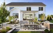 Lenah Mill model home by Toll Brothers