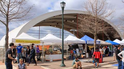 The Texas Farmers Market at the Mueller Community in Austin. 02/28/2016