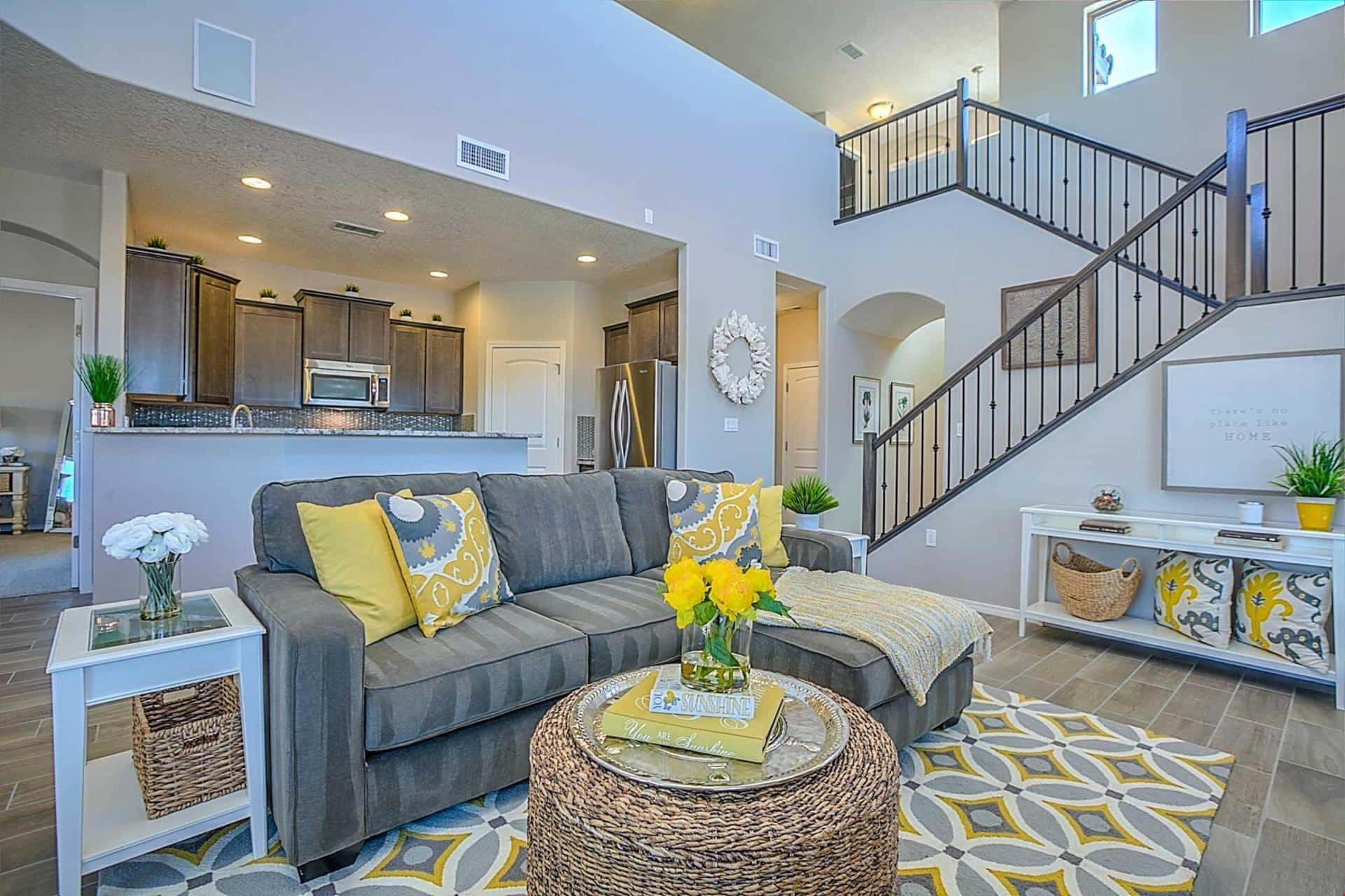 Is the Open Floor Plan Closing? | NewHomeSource Raised House Open Floor Plan on