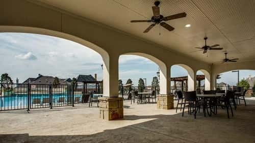 Newman Village Patio by Darling Homes