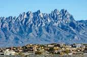 The Organ Mountains lie to the east of the high-desert college town of Las Cruces, N.M.