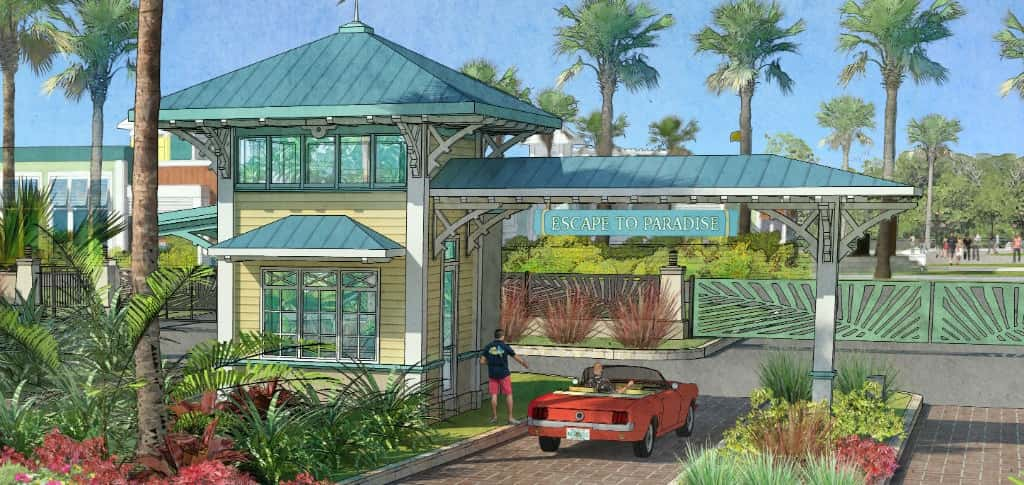 In February 2017, Minto Communities and Margaritaville Holdings announced their partnership to develop a brand new concept in active adult communities — Latitude Margaritaville. The first two are located in Daytona Beach, Fla. and Hilton Head, S.C.  The communities pay homage to the laid-back vibe of Jimmy Buffett's music. A third location is planned in Watersound, Fla. in the Florida Panhandle with more to follow. <br /> <br /> <strong>RENDERING COURTESY OF</strong><br /> Minto Communities