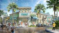 Rendering of the Working N Playin Center at Latitude Margaritaville, which includes a business center and recreational and activities center.