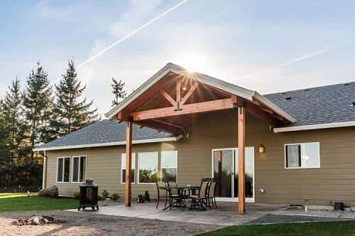 The Oswego floor plan by Adair Homes in Creswell, OR.