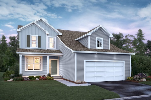 The Bloomington Plan by M/I Homes in Otsego, MN