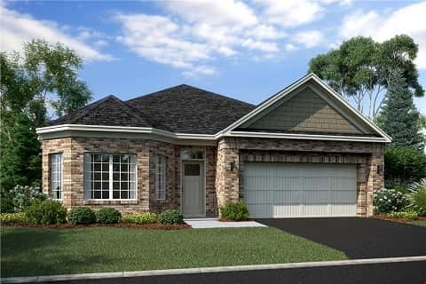 The Cedarwood Plan by M/I Homes in Cologne, MN.