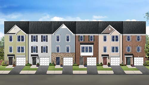 The York II Garage Plan by Dan Ryan Builders in Martinsburg, West Virginia.