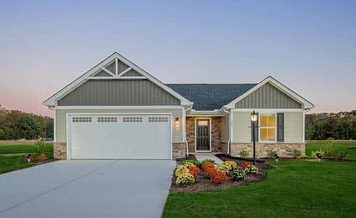 The Bahama Plan at Arcadia Springs by Ryan Homes in Martinsburg, West Virginia