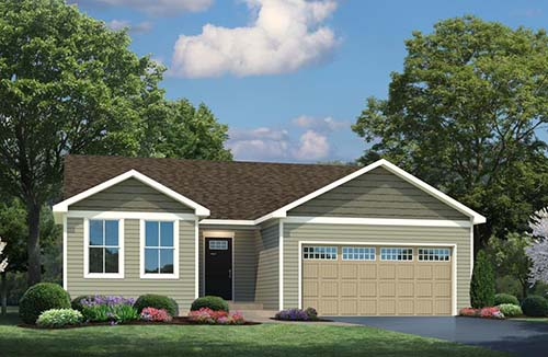 Plan 1296 by Ryan Homes in Martinsburg, West Virginia