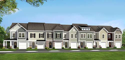 The Litchfield II Plan by Dan Ryan Builders in Martinsburg, West Virginia