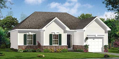 The Wyatt II Plan by Dan Ryan Builders in Gerrardstown, West Virginia