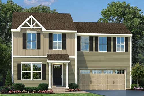 Plan 1680 by Ryan Homes in Bunker Hill, West Virginia